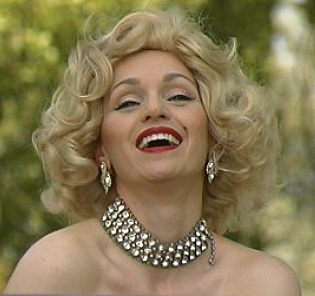 Lynnette as Marilyn Monroe