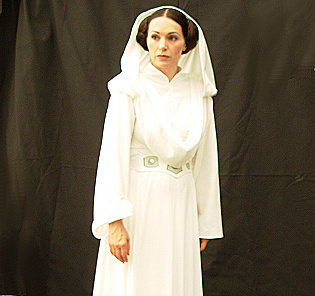 Lynnette as Princess Leia